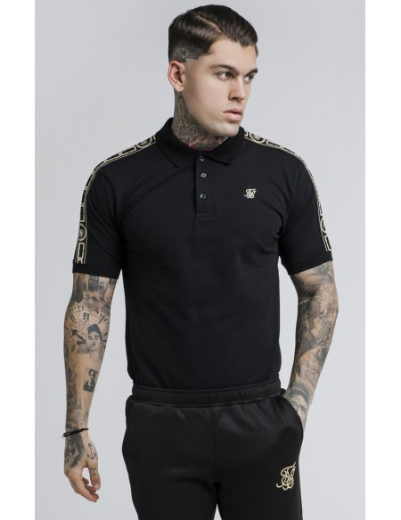 SIKSILK S/S CARTEL GRANDAD COLLAR SHIRT