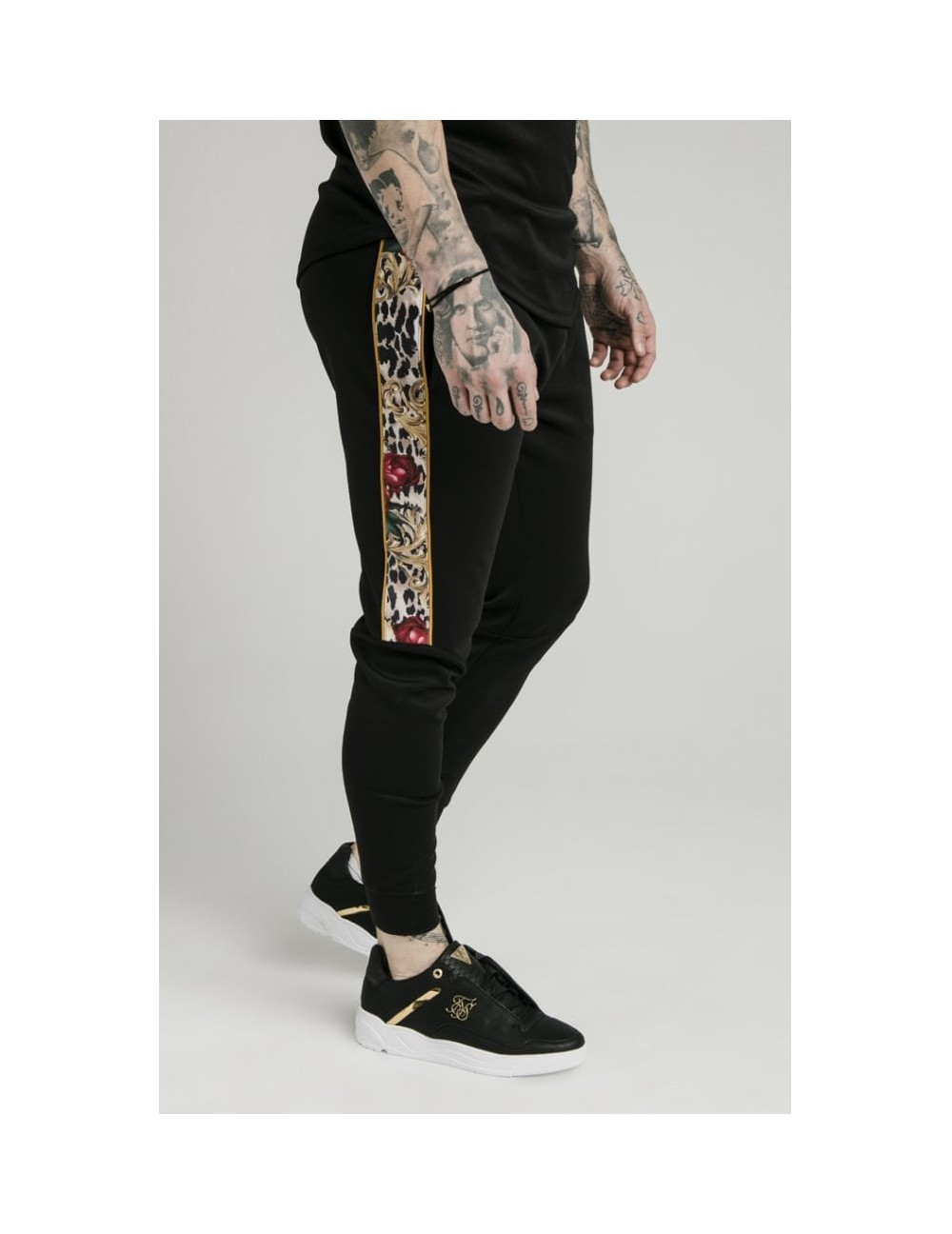 SIKSILK X DANI ALVES CUFFED PANTS