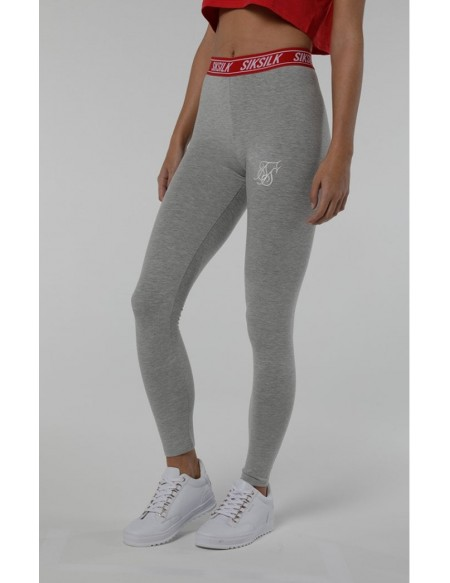 SIKSILK ELASTIC WAIST LEGGINGS