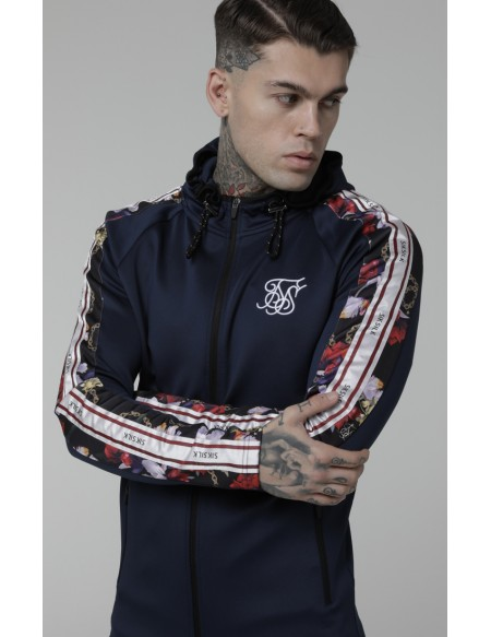 SIKSILK STARLITE ATHLETE ZIP THROUGH HOODIE