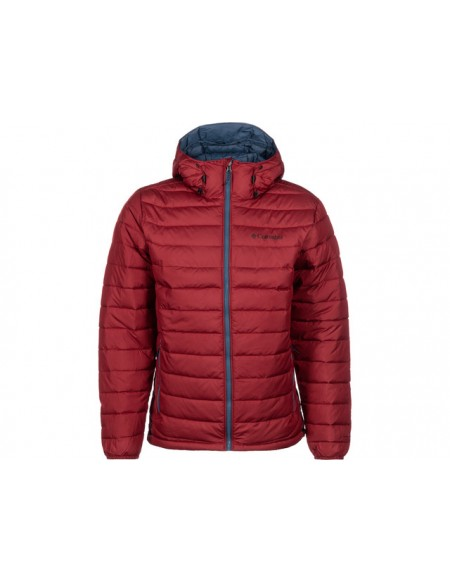 COLUMBIA POWDER LITE HOODED JACKET RED JASPER