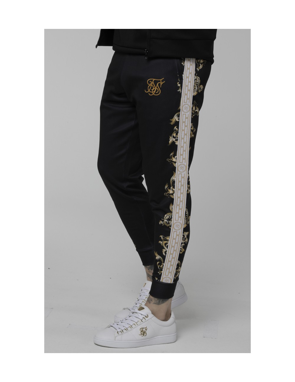 SIKSILK POLY CUFF PANTS