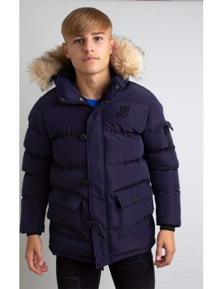 ILLUSIVE LONDON  PUFF PARKA
