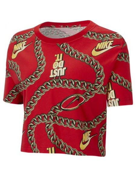 NIKE NSW TEE GLAM DUNK CROP