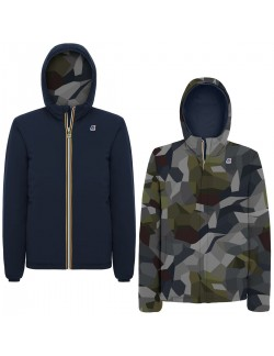 K-WAY JACQUES WARM DOUBLE GRAPHIC