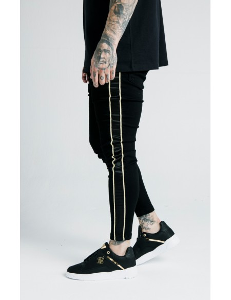 SIKSILK X DANI ALVES SKINNY ROPE DENIM