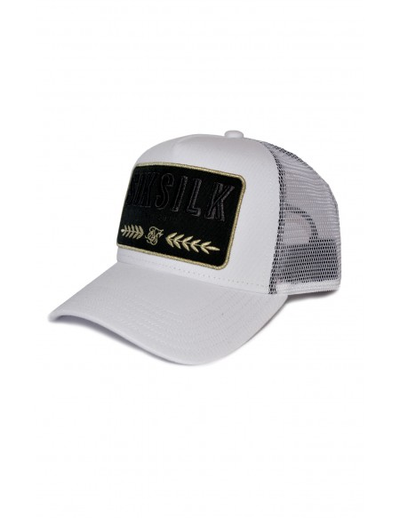 SIKSILK WASHED COTTON MESH TRUCKER