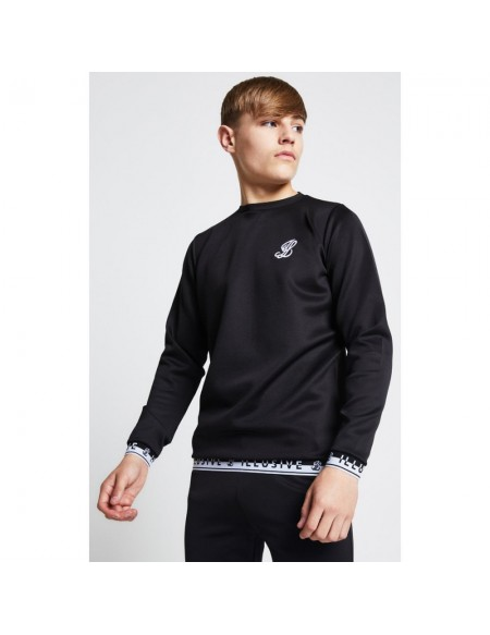 ILLUSIVE LONDON TAPED CREW SWEAT