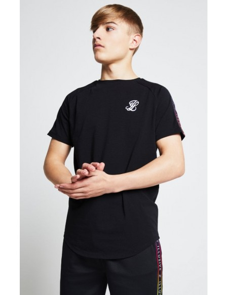 ILLUSIVE LONDON CONTRAST CUFF TEE