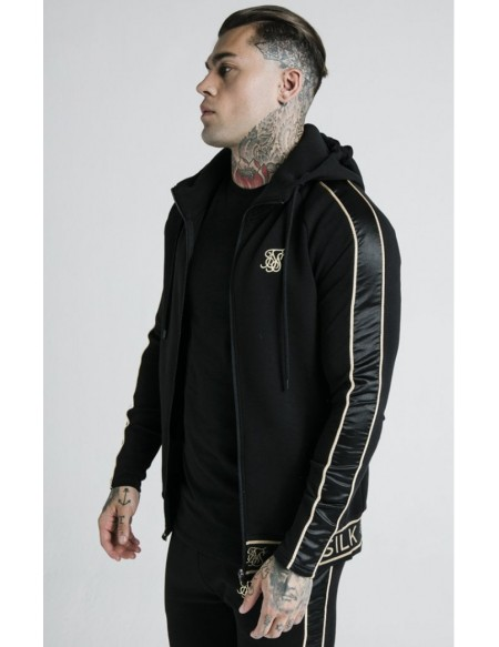 SIKSILK X DANI ALVES BRANDED ZIPTHROUGH HOODIE