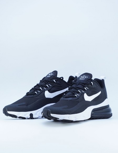 NIKE AIR MAX 270 REACT NEGRO BLANCO