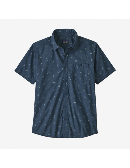PATAGONIA GO TO SHIRT AZUL