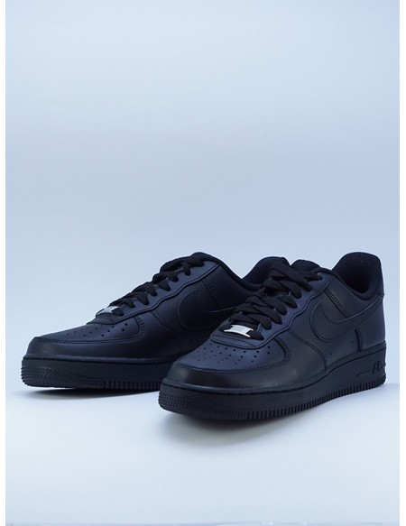 NIKE AIR FORCE 1 BLACK/BLACK