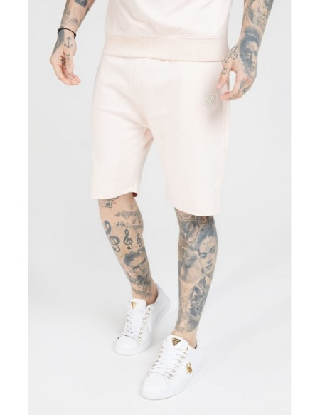 SIKSILK RELAXED SHORTS CLOUDY PINK