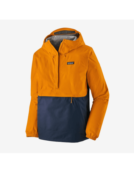 PATAGONIA TORRENTSHELLL 3 LAYER NAVY/YELLOW
