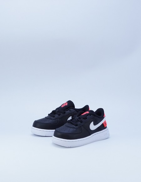 NIKE FORCE 1 WW BLACK/FLASH CRIMSON
