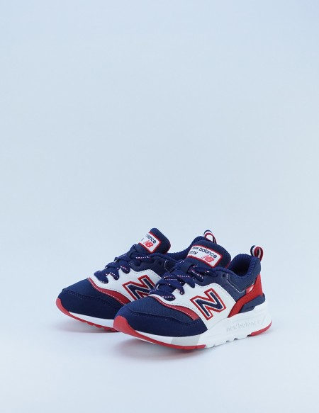 NEW BALANCE PZ 997 HVN NAVY/RED