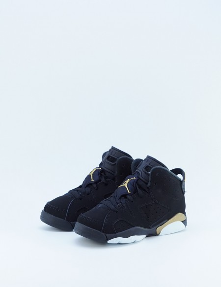 JORDAN 6  RETRO SE BLACK/METALLIC GOLD-BLACK