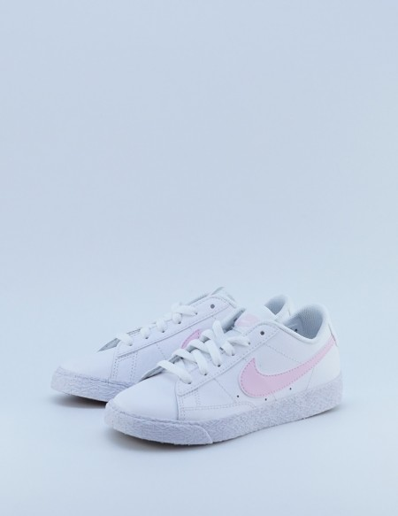NIKE BLAZER LOW WHITE/PINK FOAM