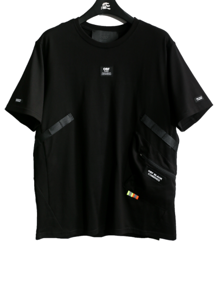 MOD WAVE MOVEMENT 032021142 BLACK TSHIRT