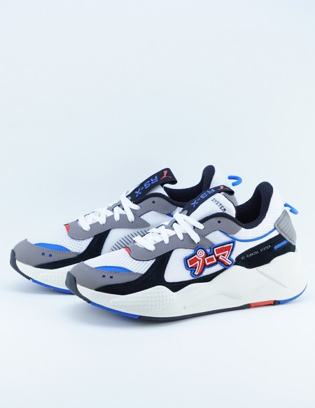 PUMA RS-X JAPANORAMA WHITE/BLUE/RED