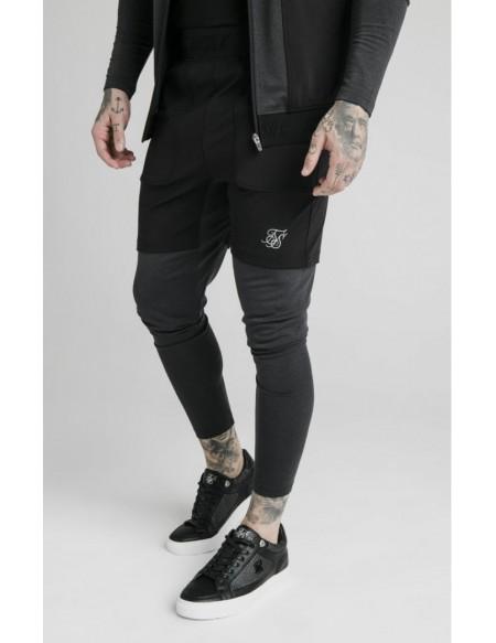 SIKSILK ADVCANCED TECH TRACK PANTS BLACK