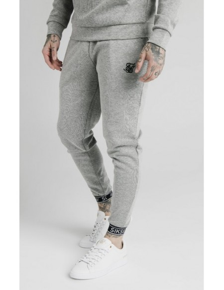SIKSILK PLEATED ELASTIC CUFF JOGGER
