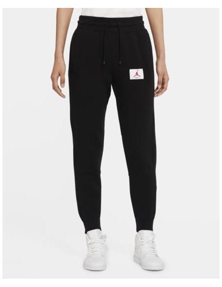 JORDAN FLIGHT PANTS BLACK/WHITE-RED
