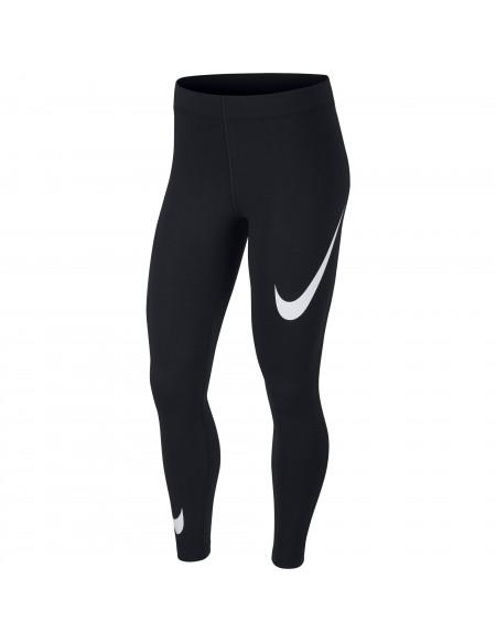 NIKE SPORTSWEAR LEG-A-SEE SWOOSH BLACK/WHITE