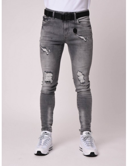 PROJECT X PARIS T19918 DENIM  GREY