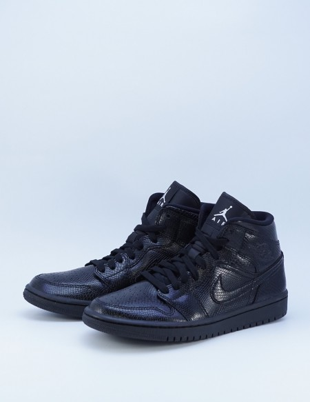 AIR JORDAN 1 MID PHYTON BLACK