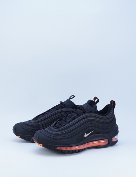NIKE AIR MAX 97 BLACK/METALLIC SILVER-TOTAL ORANGE