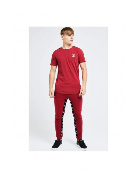 ILLUSIVE LONDON GRAVITY  TAPE TEE  RED