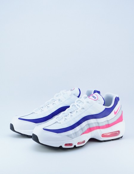 NIKE AIR MAX 95 WHITE/HYPERPINK