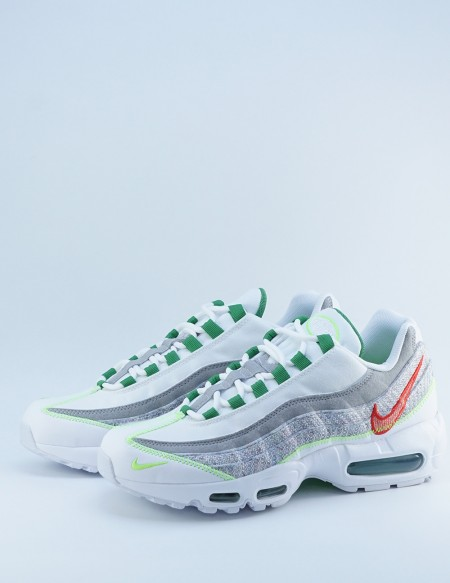 NIKE AIR MAX 95 WHITE/CLASSIC GREEN