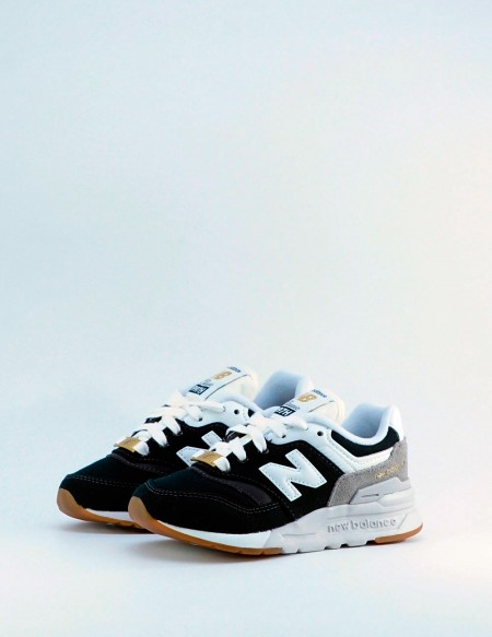 NEW BALANCE 997 HHC BLACK/WHITE/GOLD