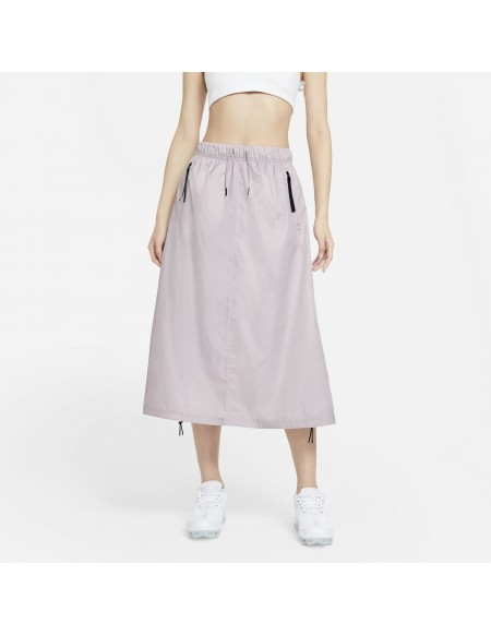 NIKE SPORTSWEAR TECH PACK PLATINUM VIOLET SKIRT