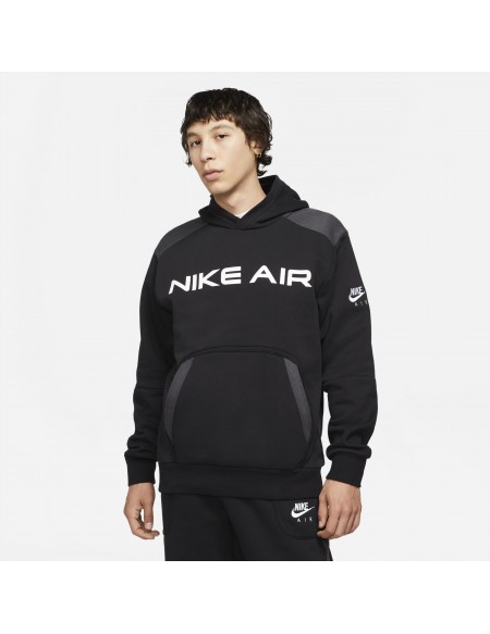 NIKE AIR PULLOVER FLEECE BLACK/DK SMOKE