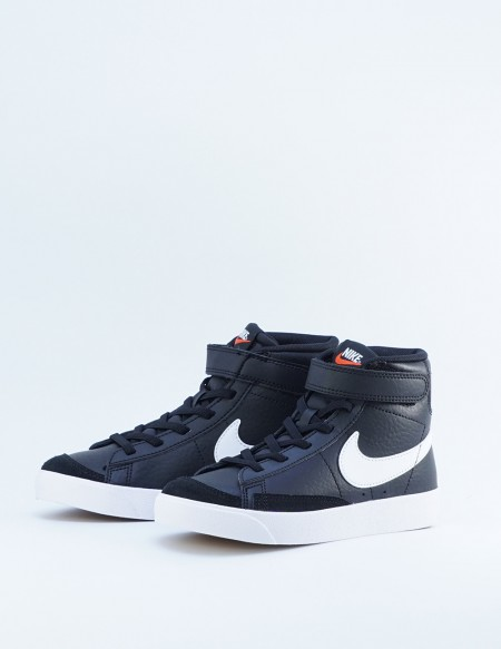 NIKE BLAZER MID '77 KIDS BLACK/WHITE