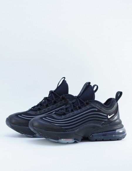 NIKE AIR MAX ZM950(GS) BLACK/METALIC SLVR