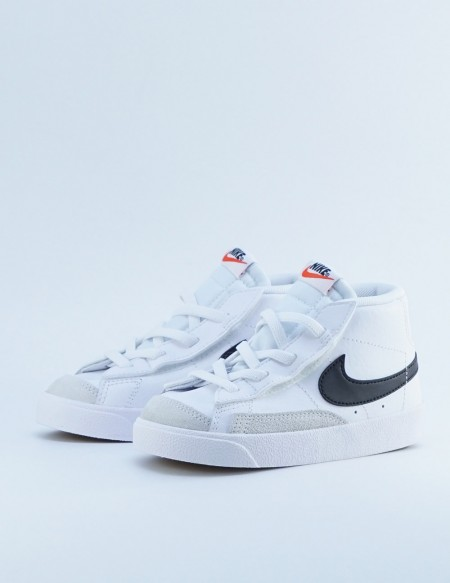 NIKE BLAZER MID '77 WHITE/BLACK-TEAM ORANGE