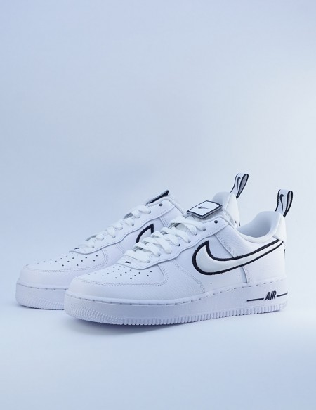 NIKE AIR FORCE 1 WHITE/WHITE-BLACK