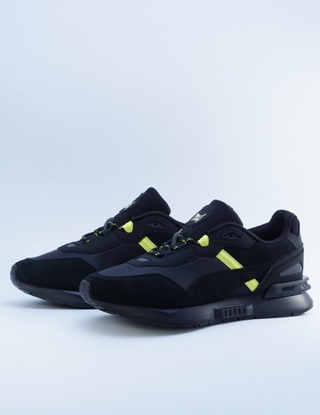 PUMA X HELLY HANSEN MIRAGE TECH  BLACK/YELLOW