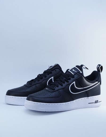NIKE AIR FORCE 1 BLACK/BLACK-WHITE