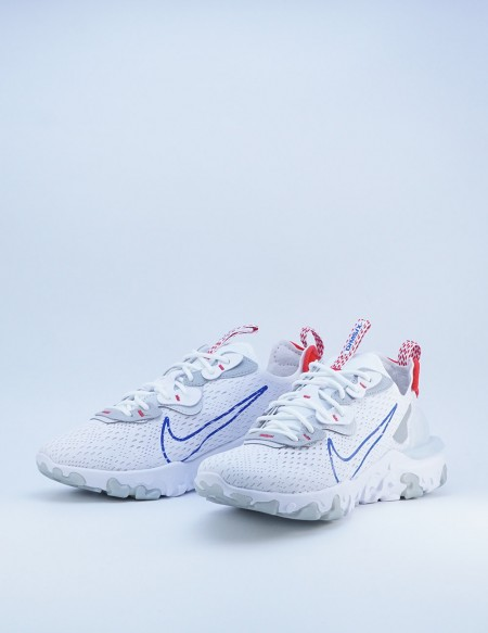 NIKE REACT VISION WHITE/GAME ROYAL-PURE PLATINUM