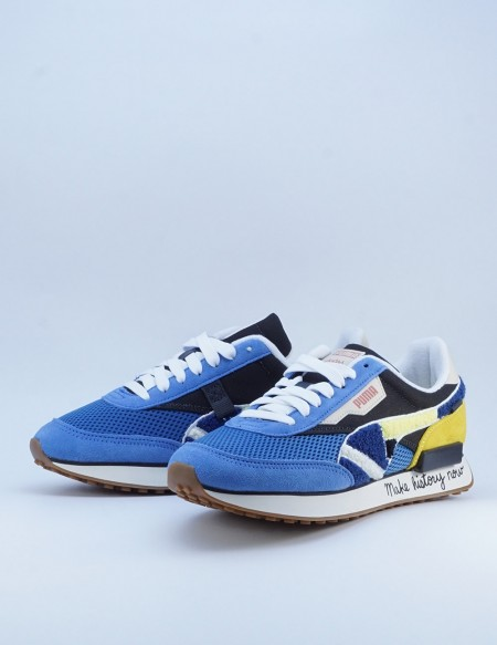 PUMA FUTURE RIDER X BLACK FIVES STAR SAPPHIRE-MAIZE