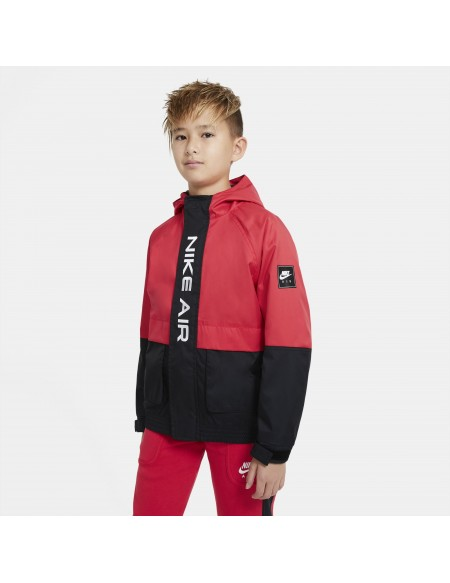 NIKE AIR JACKET UNUVERSITY RED/BLACK/WHITE