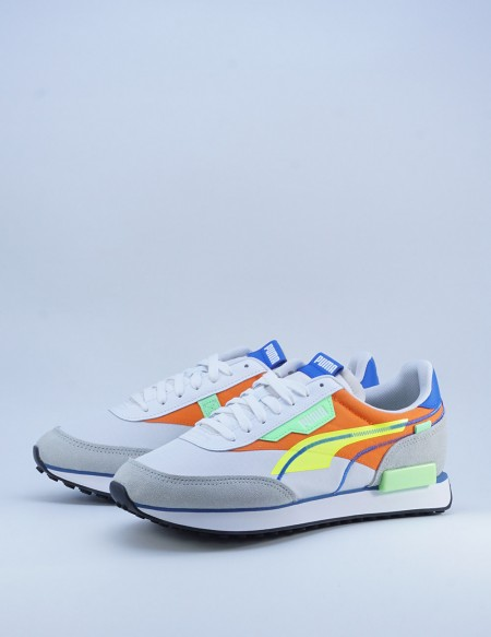 PUMA FUTURE RIDER TWOFOLD SD POP WHITE