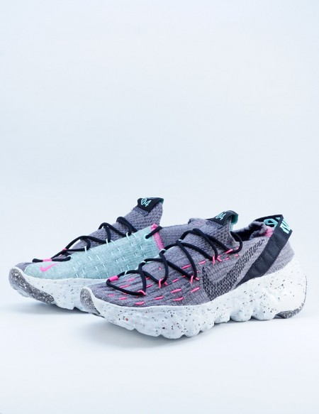 NIKE SPACE HIPPIE 04 SMOKE GREY/BLACK-PINK BLAST