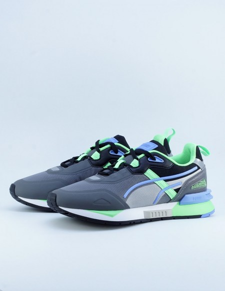 PUMA MIRAGE TECH CASTLEROCK-ELECKTRO GREEN